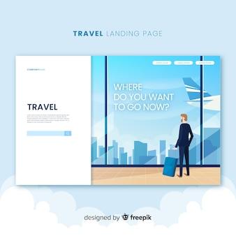 Página de inicio de viajes
