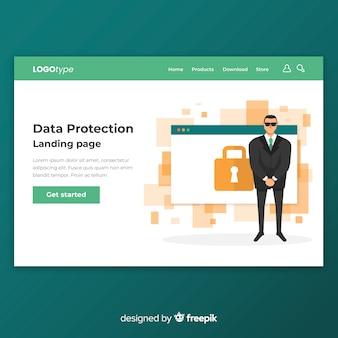 Página web de protección de datos