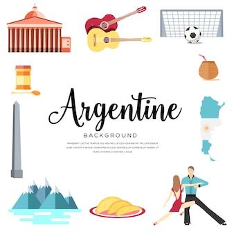 País argentina guía de vacaciones de viaje
