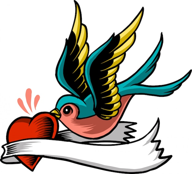 Pájaro de amor