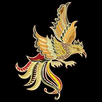 Pájaro batik