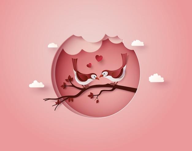 Pájaro enamorado