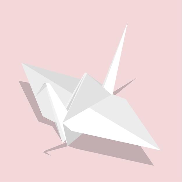 Pájaro origami
