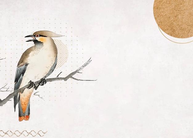 Pájaro en una rama