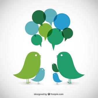 Pájaros parlantes