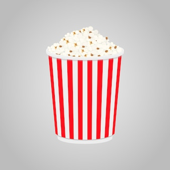 Palomitas de maíz en caja para cine, cine