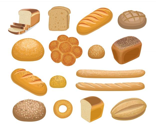 Pan, productos de panadería.