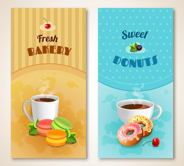 Panadería banner set