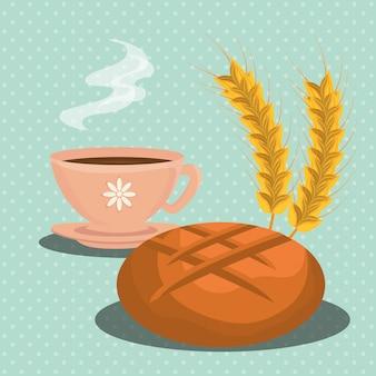 Panaderia comida y gastronomia