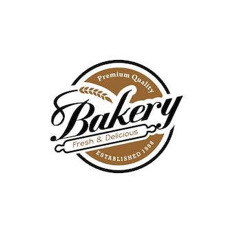 Panadería vintage logo