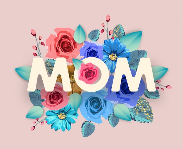 Pancarta de mamá