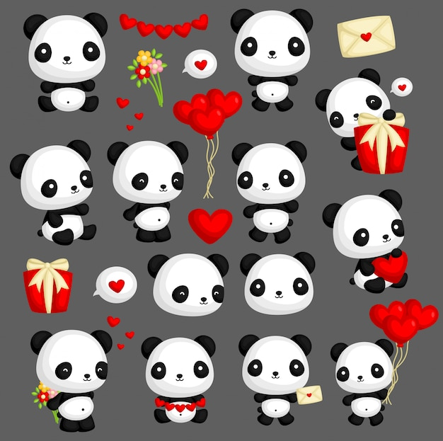 Panda en el amor