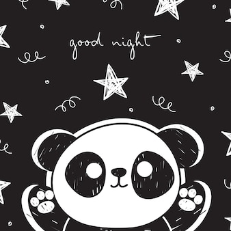 Panda encantador