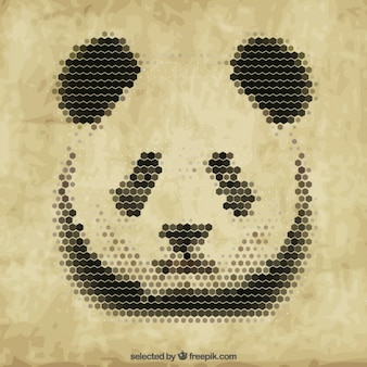 Panda poligonal