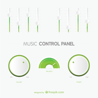 Panel de control mínimo