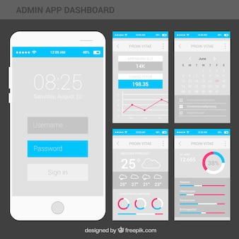 Linea de tiempo circular descargar vectores gratis for App para planos