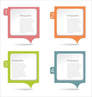 Panel de mensajes de papel