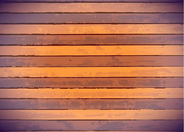 Paneles de madera de colores