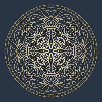 Paneles redondos de techo vidriera. resumen mandala flor, remolinos, composición simétrica, vidrieras.