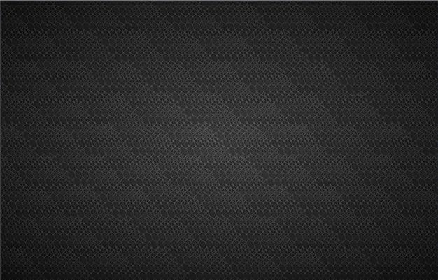 Pantalla de cine negro led para fondo de presentación de películas.