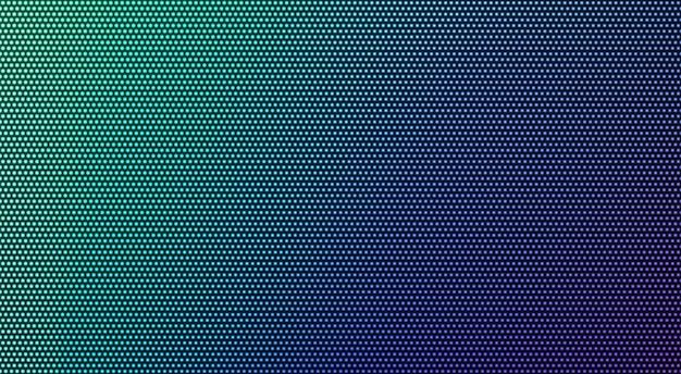 Pantalla led con efecto de visualización con textura de píxeles