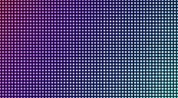 Pantalla led. fondo de tv con textura de píxeles. monitor lcd. pantalla digital. efecto de diodo electrónico