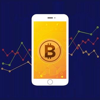 Pantalla móvil bitcoin