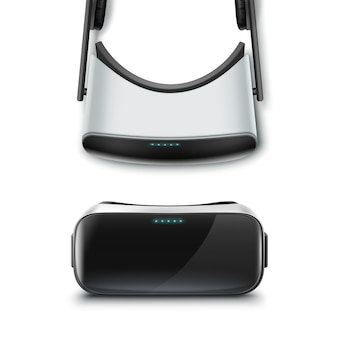 Pantalla óptica montada en la cabeza o anteojos de realidad virtual