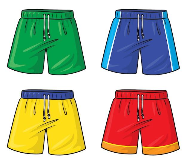 Pantalones cortos de dibujos animados