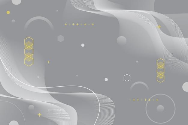 Pantone 2021 fondo ondulado abstracto