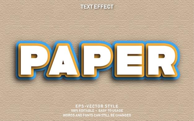 Papel de efecto de texto
