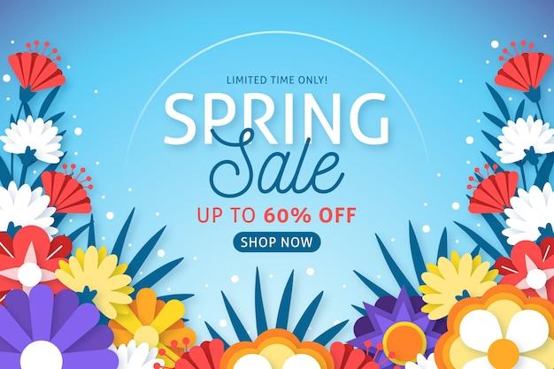 Papel estilo primavera con venta