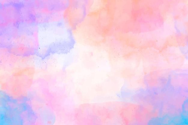 Papel pintado abstracto pintado a mano en acuarela