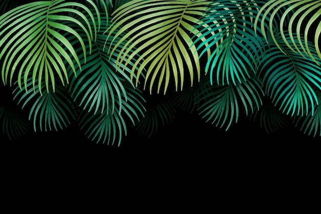 Papel pintado mural tropical