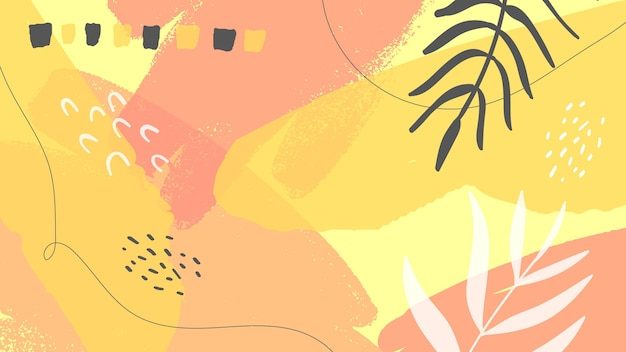 Papel pintado pintado abstracto