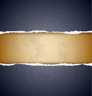 Papel rasgado con textura