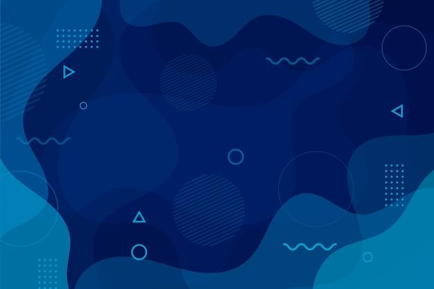 Papel tapiz azul clásico abstracto