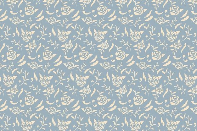 Papel tapiz de flores ornamentales vintage
