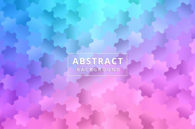Papel tapiz de fondo abstracto. hexágono de polígono colorido vector premium