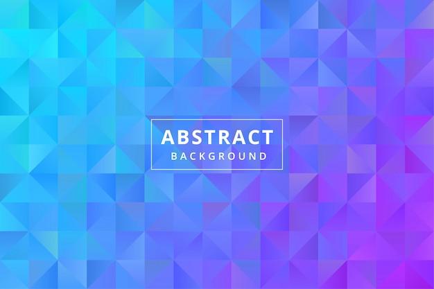 Papel tapiz de fondo colorido abstracto con forma poligonal poligonal vector premium