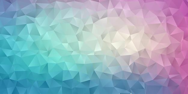 Papel tapiz de fondo polígono geométrico abstracto. forma triangular polly baja