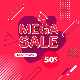 Papel tapiz promocional colorido abstracto de las ventas