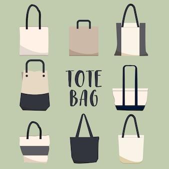 Paquete de bolsas de totoe