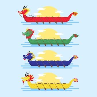 Paquete de bote de dragón