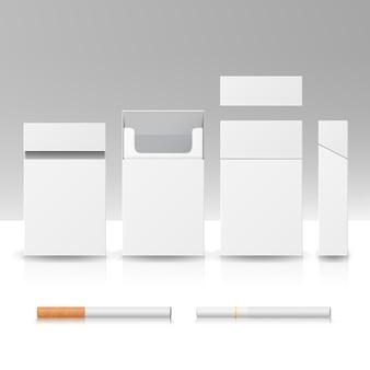 Paquete caja de cigarrillos