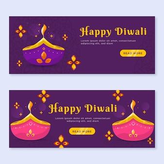 Paquete de carteles de diwali
