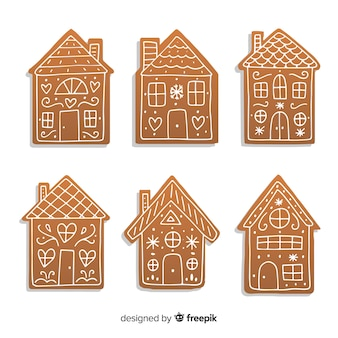 Paquete casas pan de jengibre