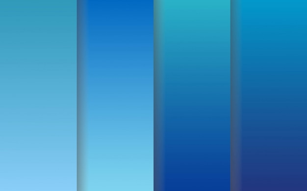Paquete de colecciones de color degradado