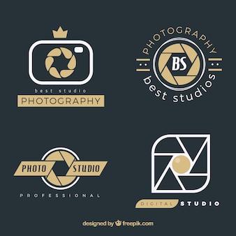 Paquete de logos de fotografía