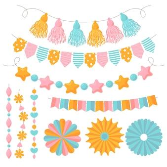 Paquete de decoración de cumpleaños